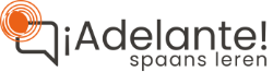 Spaans leren Eindhoven   Spaanse les voor beginners   Adelante Logo